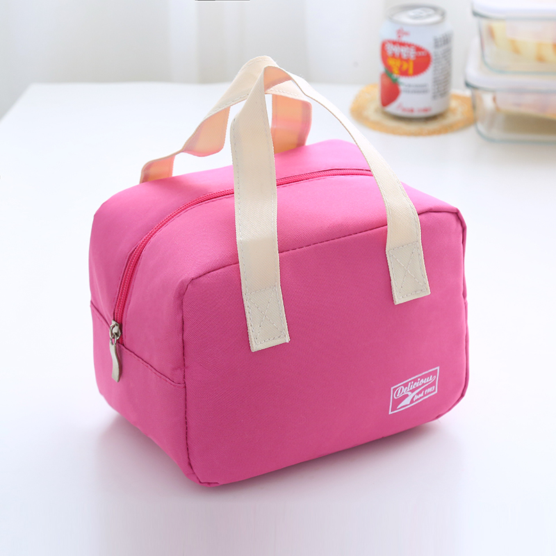 Oxford Tolerance thick square lunch box bag handbag lunch bags keep warm insulation board rice bag lunchbag With aluminum foil-in Lunch Bags from Luggage ... & Oxford Tolerance thick square lunch box bag handbag lunch bags ... Aboutintivar.Com