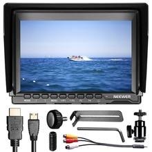 цена Neewer NW74K 7 Inch Ultra HD 1280x800 IPS Screen Camera Field Monitor Support 4K input for Sony/Canon/Nikon/Olympus/Pentax онлайн в 2017 году