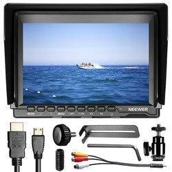 Neewer NW74K 7  Ultra HD 4K 1280x800 IPS Screen Camera Field Monitor,16:10/4:3 Adjustable Display Ratio for Sony Canon Nikon