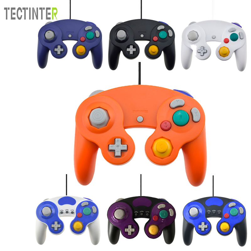 USB Wired Controller Gamepad for NGC Joystick Controle Mando for Gamecube Computer Joypad dilong p3950 usb 2 0 wired flight joystick for computer ps3 black silver