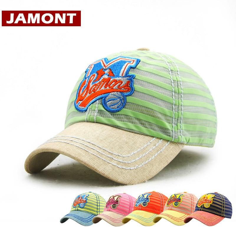[JAMONT] Casual Kids Cap Våren Sommar Baseball Cap Pojke Flicka - Kläder tillbehör