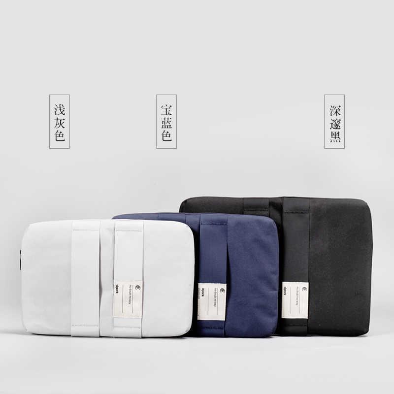 D-park fundas impermeables para ordenador portátil para hombre funda de bolsa para portátil 12 13 14 pulgadas bolsas de transporte