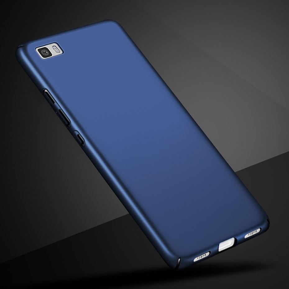 Luxury Hard Back Matte Case For Huawei P9 Lite Mini 2017 case PC Back Cover For Huawei Mate 10 lite case nova 2i P8 lite P9 case
