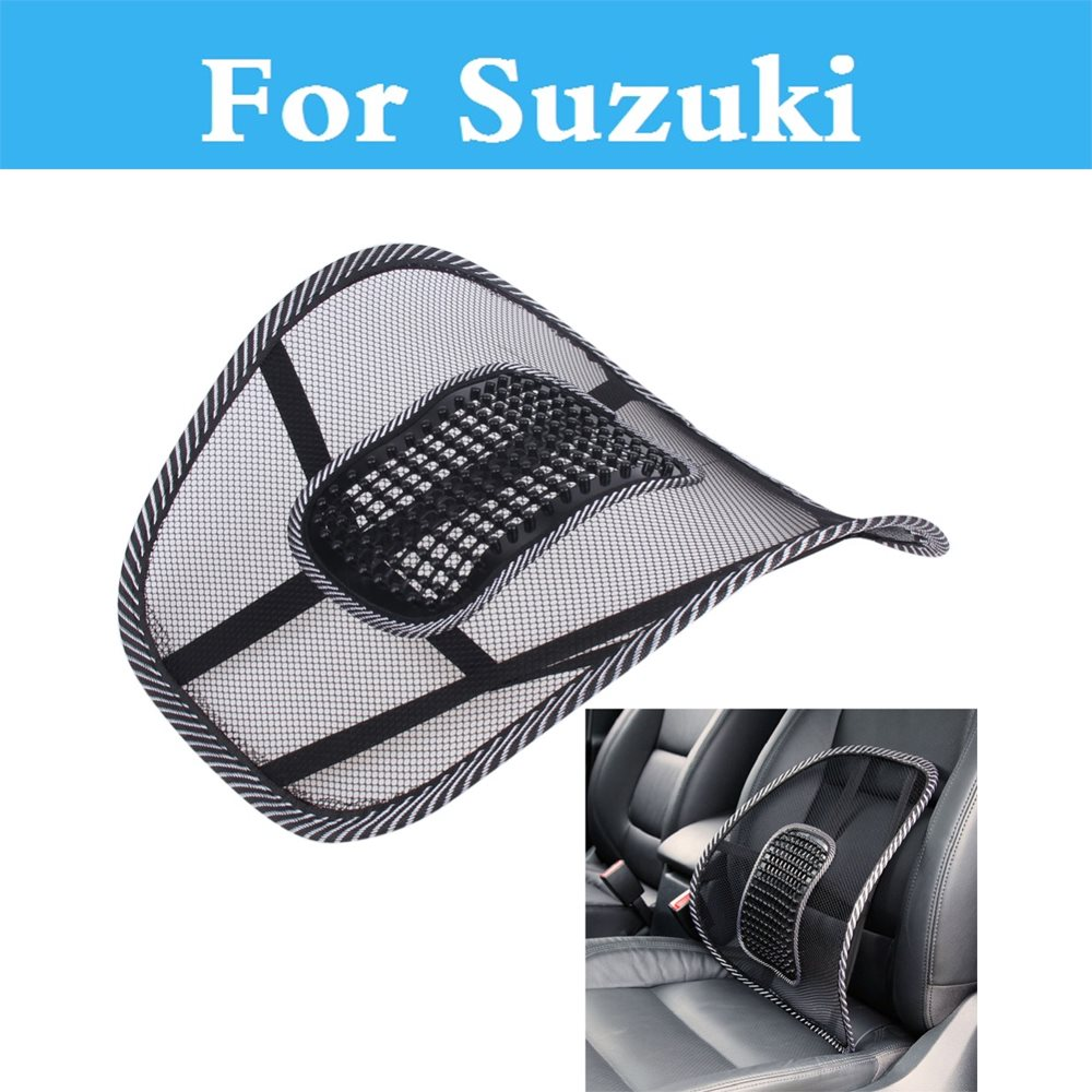 Car Seat Cushion Lumbar Waist Back Support Pillow For Suzuki Vitara Aerio Baleno Celerio Cervo Escudo Forenza Vitara Grand