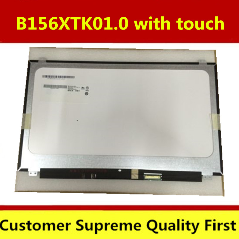Free Shipping NT156WHM-T00 B156XTK01.0 40PINS EDP LCD SCREEN Panel Touch DisplayFOR Dell Inspiron 15 5558 Vostro 15 3558 JJ45K