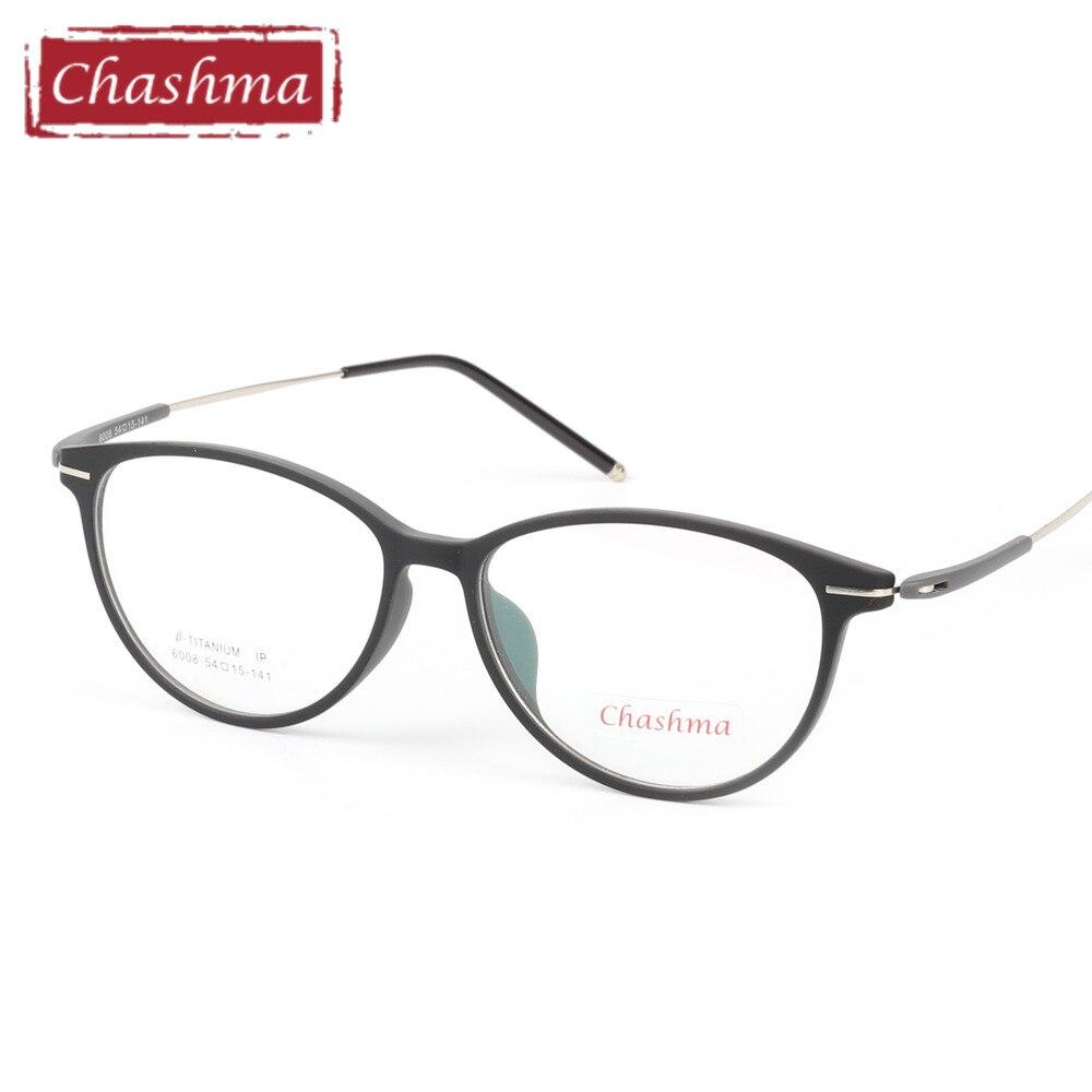 71ef136f7ed Chashma Brand Large Glasses Transparent Color Frame Wide Frames Women  Eyeglasses TR 90 Light Flexible Big Rim Glasses