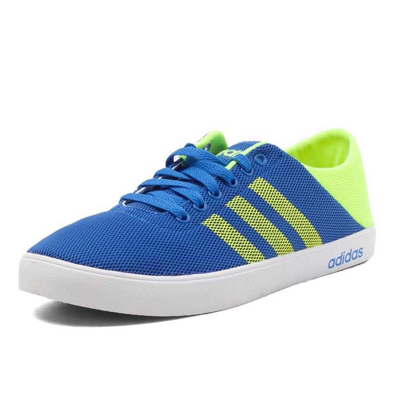 new photos 81fe3 98798 ... Original Adidas Neo VS EASY VULC SEA Men s Skateboarding Shoes Sneakers  ...