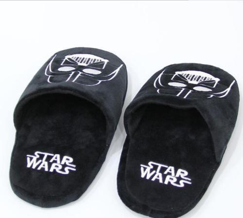Мягкие тапочки Звездные войны Дарт Вейдер 3
