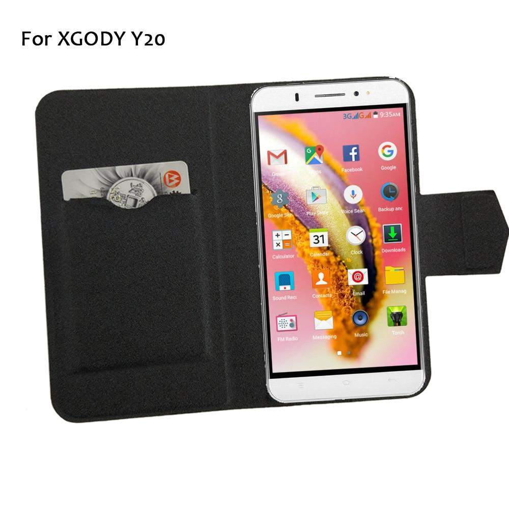 5 barev Hot! XGODY Y20 Pouzdro na telefon Kožené pouzdro, Přímá móda Luxusní Luxusní Flip Stojan Kožené Pouzdra na Telefon
