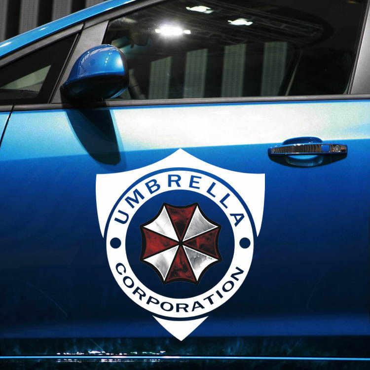 Aliauto voiture-style parapluie société bouclier marque voiture autocollant et décalcomanie pour VW skoda Kia Smart Fortwo Golf Polo Peugeot Opel