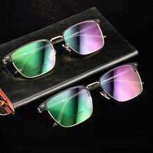 Handoer 10030 Optical Glasses Frame for Titanium Alloy Eyewear Full Rim Spectacles Prescription