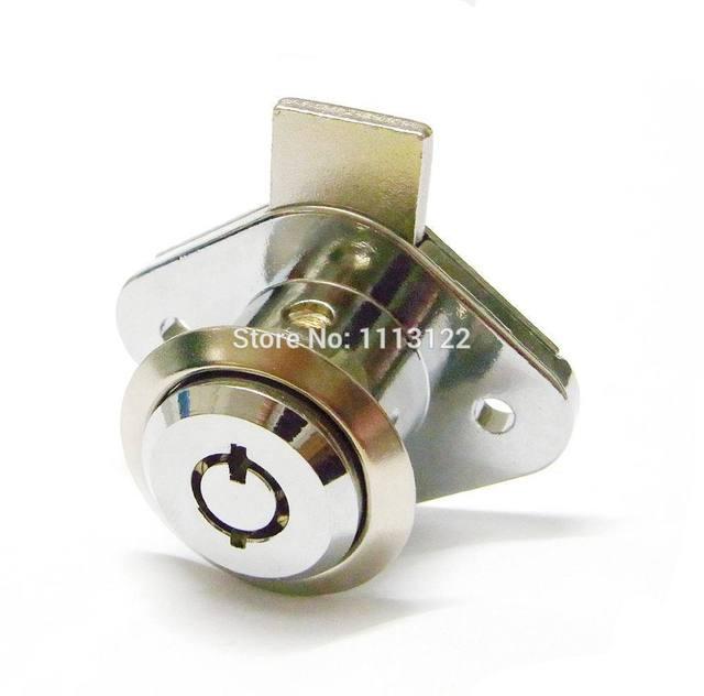 7 Pins Furniture Drawer Lock With Key Tubular Key Drawer Can Lock 7