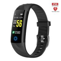 Fitness Smart Uhr Männer Frauen Herz Rate Monitor Schrittzähler Blutdruck Sport Intelligente Uhr Mit Lampe Für Laufende Nacht-in Digitale Uhren aus Uhren bei
