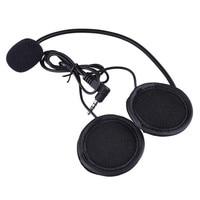 Motorcycle Helmet Clip Microphone Speaker Headset Helmet Intercom Clip For V4 V6 Motorcycle Bluetooth Interphone Bluetooth Clip|Helmet Headsets| |  -