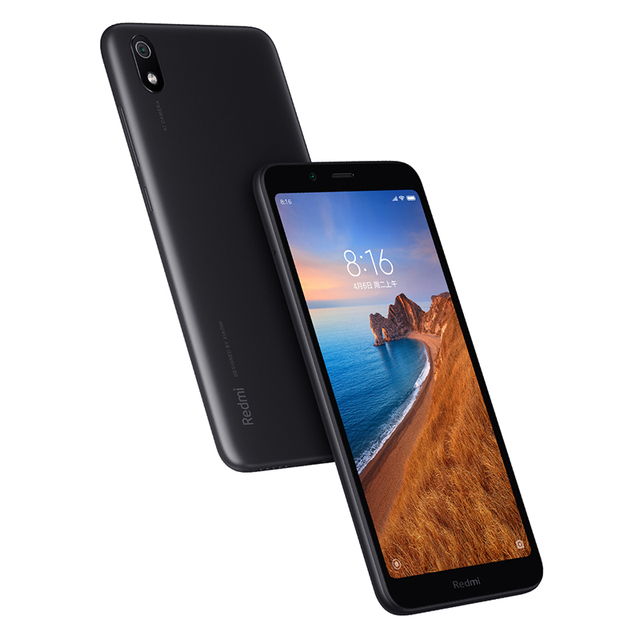 "Global Version Xiaomi Redmi 7A 7 A 2GB 16GB 5.45"" Snapdargon 439 Octa core Mobile Phone 4000mAh 12MP Camera Smartphone 4"