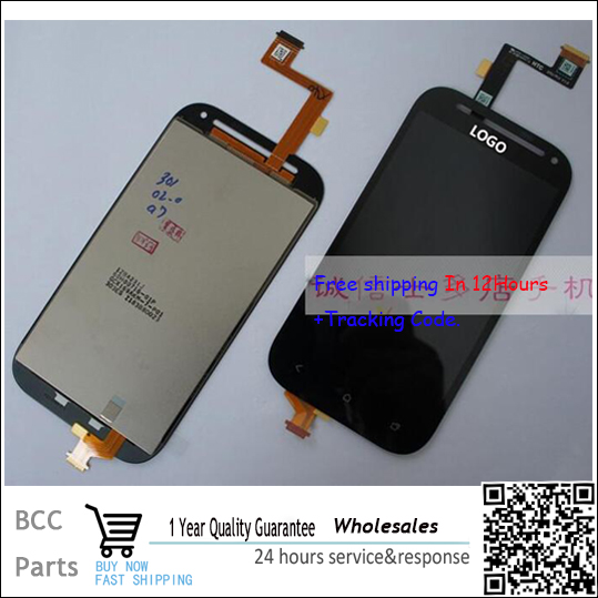 Original Best quality! Test OK LCD display+ Touch screen Panel Digitizer  For HTC One SV C525E C520E  free shpping test ok for htc one max lcd display touch screen digitizer panel with frame assembly free shipping track code