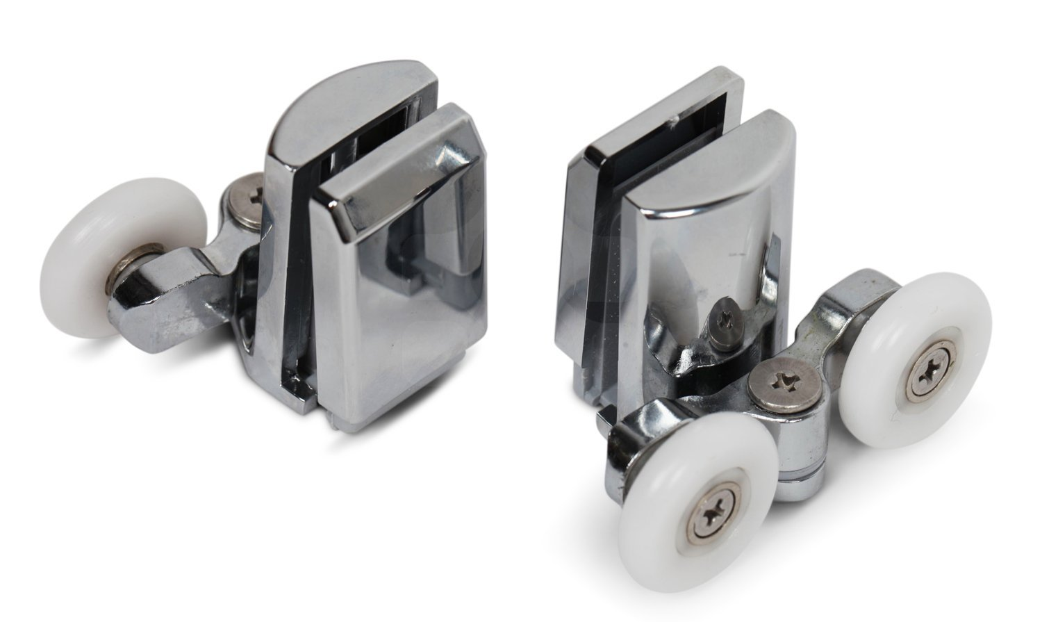 Kenley Stainless Steel Shower Door Twin Rollers Runners Set of 4 Top \u0026 Bottom-in Door Rollers from Home Improvement on Aliexpress.com | Alibaba Group  sc 1 st  AliExpress.com & Kenley Stainless Steel Shower Door Twin Rollers Runners Set of 4 ...