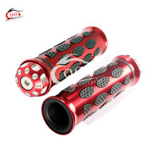 1 Pair Motorcycle Aluminum 7/8″ Handle Bar Hand Grips For Honda CBR1000RR CBR600RR Red