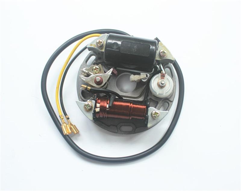 PUCH 17/35W Stator COIL 6V 17W 12V 35W Zundapp Kreidler Hercules KTM Ignition Alternator 17W is 6V 35W is 12V система освещения edco 2 5 gs11 12v 35w