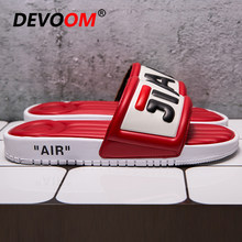 Fashion Massage Slipper 2019 Summer Slippers Women Anti-slip Comfortable House Slippers Women Red Shoes Unisex Beach Sandalias(China)