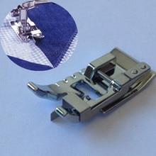 Piezas de máquina de coser borde unirse a/punto en la zanja prensatelas para máquina de coser-se adapta a todos bajo mango 7YJ35-2