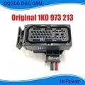 25 pines/Way mecatrónica arnés de cables DQ200 0AM DSG 7 conector de velocidad enchufe con cola de cerdo para Audi Beetle Caddy Golf 1K0 973 213