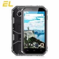 E & L W6 Telefono Mobile 4.5 Pollice MTK6735 Quad-Core 1 GB + 8 GB 5MP Smart phone Dual Sim Sbloccato Telefoni Impermeabile Android 6.0 4G Lte