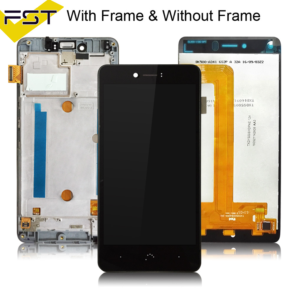 100% Tested For BQ Aquaris U plus/U lite LCD Display+Touch Screen Digitizer Assembly for BQ U LCD Pantalla Tactil  Con Marco100% Tested For BQ Aquaris U plus/U lite LCD Display+Touch Screen Digitizer Assembly for BQ U LCD Pantalla Tactil  Con Marco