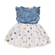 MUQGEW Girls Clothes Baby Dress Summer Baby Tutu Dress Toddl