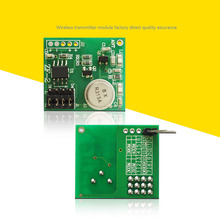 High stability PCB Circuit Board  Micro 4CH Remote Control DC9V-12V RF Wireless Transmitter Module Transmitting Signal 10pcs/lot