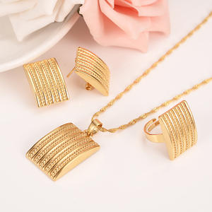 Bangrui Pendant Earrings Jewelry sets African Wedding Women
