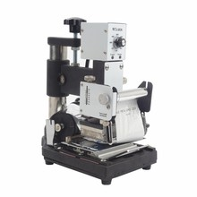 1 pcs Hot Stamping Machine For PVC Card Member Club Hot Foil Stamping  Bronzing Machine WTJ-90A