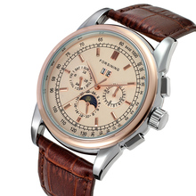 Fashion FORSINING Top Brand Simple Men Watches Casual Auto Mechanical