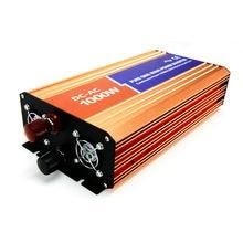 DECEN 1000 W 24VDC 110 V/120 V/220 V/230VAC 50Hz/60Hz Pic puissance 2000 W Hors-réseau À Onde Sinusoïdale Pure Onduleur Solaire ou le Vent Inverter