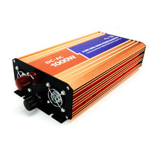 DECEN 1000 W 24VDC 110 V/120 V/220 V/230VAC 50Hz/60Hz Pico potencia 2000 W Fuera de la red de Onda Sinusoidal Pura Inversor Solar o del Viento Del Inversor