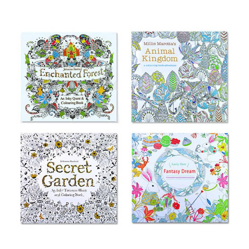 Libros Para Colorear Mandalas De 24 Páginas Cuaderno Para Niños