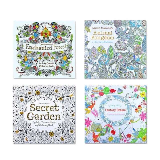 24 Seiten Mandalas Färbung Bücher Notebook für Kinder Erwachsene ...