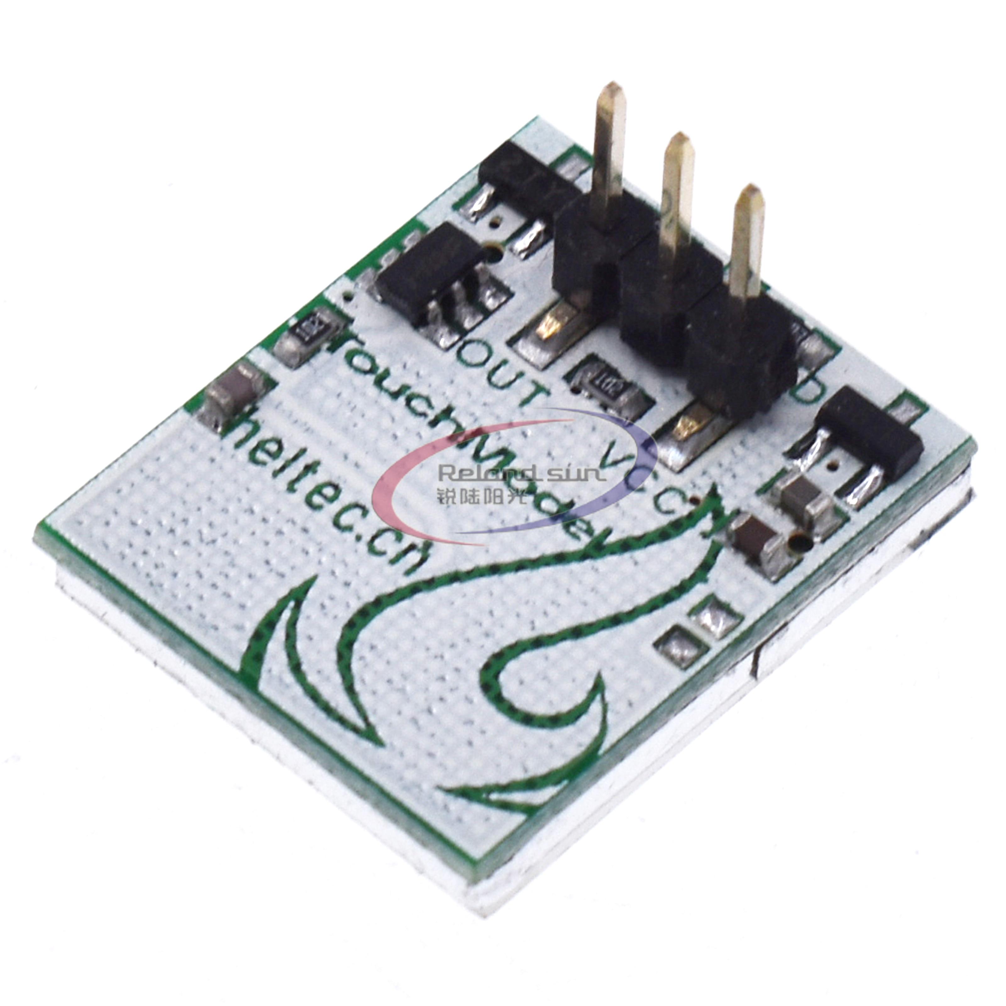 Емкостный модуль сенсорного переключателя, серия файтм, 2,7 в-6 в, мощное противопомеховое покрытие, красный, зеленый, желтый, желтый, цветной ...