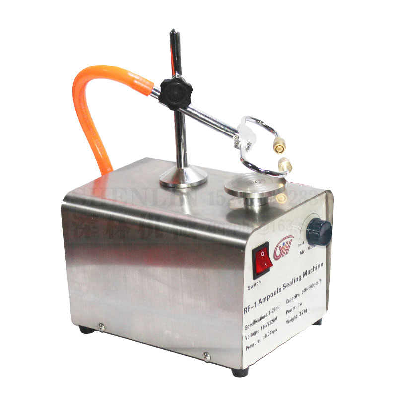 Glass tube hot welding machine, laboratory Ampoule sealing machine manual  ampoule sealer, amber vial sealing machine, 110V/220V