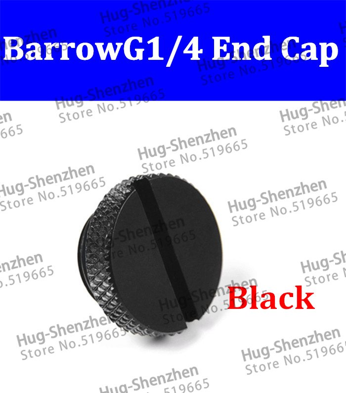 2pcs Barrow G1/4 End Cap TZS1-A02 Coin screw type plug for water tank