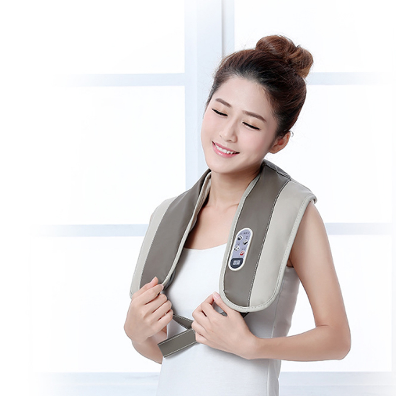 все цены на Cervical Massager Electromagnetic shock Pulse Cervical physiotherapy instrument Multi-function Household Neck Massage Health