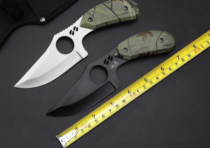 New Brand 087 font b Hunting b font Fixed font b Knife b font 5Cr15Mov Blade