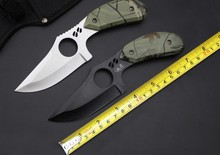 New Brand 087 Hunting Fixed Knife 5Cr15Mov Blade Camping Utility Knife Survival Multi Tools With High Quality Nylon Sheath CS GO