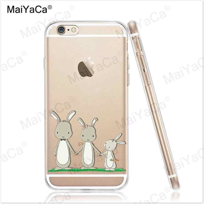 MaiYaCa لطيف الحيوان الباندا لينة TPU سيليكون جراب هاتف Fundas ل فون 8 XS XR XS ماكس 5s 6 6s 7 زائد 6 زائد 7 زائد 11pro حالة