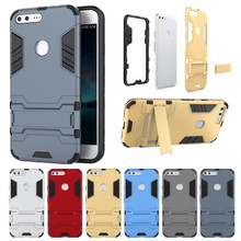Luxury Heavy Duty Armor Impact Shell Case For Google Pixel 5.0 / Pixel XL 5.5 Cover Mobile Phone Cases Stand Holder Capa Funda