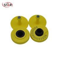ST A01 (100pcs/pack) economical and practical promotion FDX B chip EM4305 134.2KHz cow ear tag