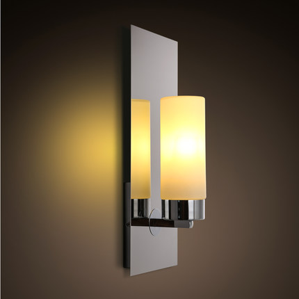 Creative Iron Glass Wall Sconce Simple Modern LED Wall Light Fixtures For Bedroom Wall Lamp Home Lighting Lamparas цена