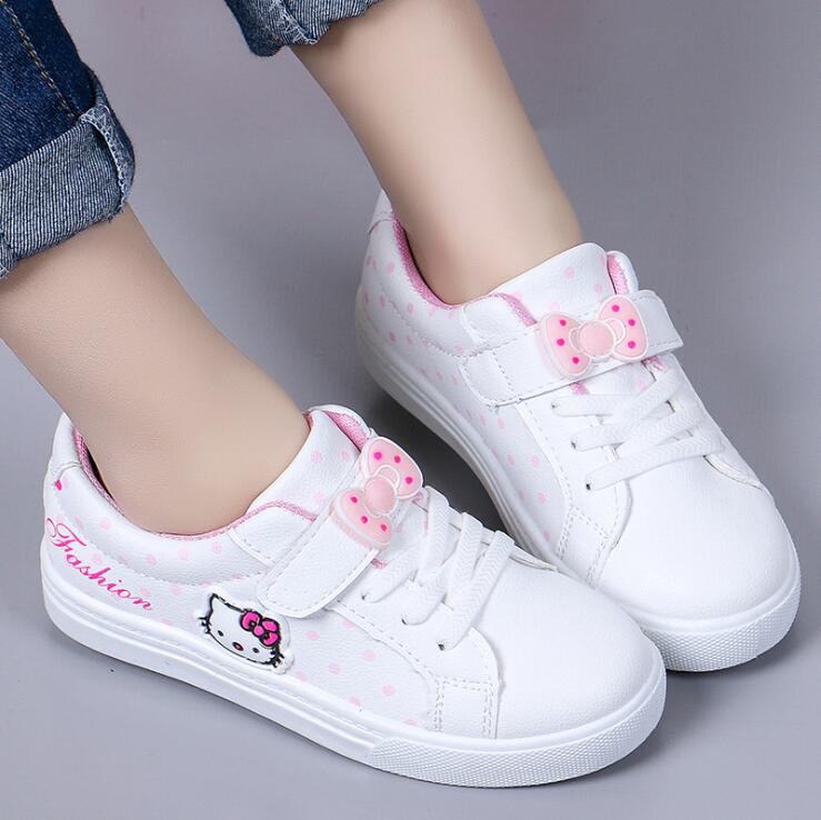2019 Brand Kids Sneakers For Boy Girl New Spring Childrens Baby Kitty Casual Soft Flat Shoes Kids chaussure enfant Sneakers2019 Brand Kids Sneakers For Boy Girl New Spring Childrens Baby Kitty Casual Soft Flat Shoes Kids chaussure enfant Sneakers