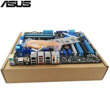 original Used Desktop motherboard For ASUS P7P55D EVO P55 Support LGA1156 I7 I5  Maximum DDR3 16GB SATA2 ATX Main Board