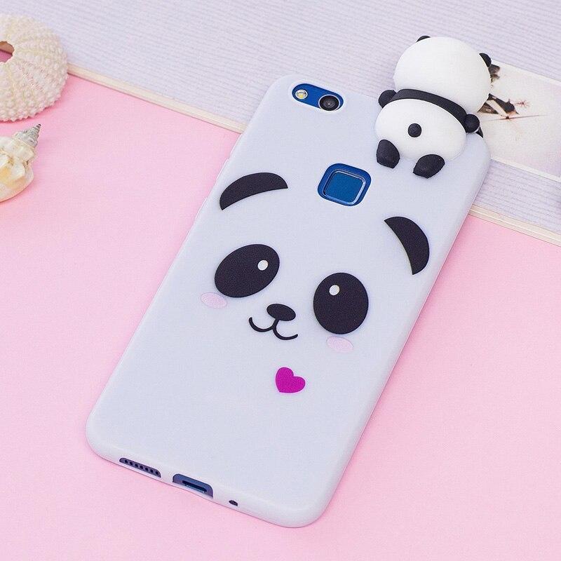 Lite Kawaii Dessin Anim Licorne Panda Doux Tpu Silicone Housse T Phone Pour Huawei Retour Coque En Caoutchouc Chaud A331